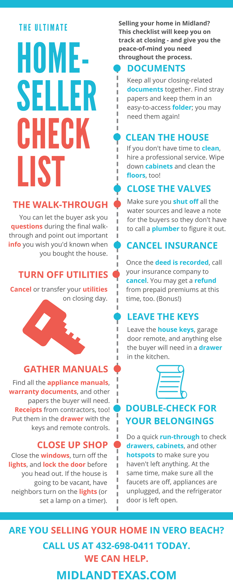 Home Seller Checklist - Sell Your Home in Midland, TX